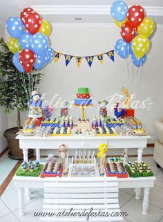 Atelier de Festas: Fazendinha da Galinha Pintadinha III - Arthur Sonic Birthday, Birthday Cake, Festa Party, Baby Party, Animal Party, Dessert Table, Party Themes, Party Ideas, Diy And Crafts