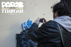 Paris Tonkar magazine // Graffiti and Street art: Reportage photo de Ninnog à Paris