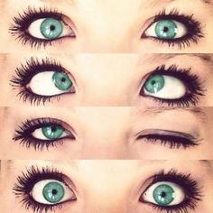 Green eyes! Beautiful