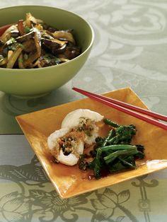 ... gai lan, or Chinese broccoli, is sweeter than broccoli or broccoli
