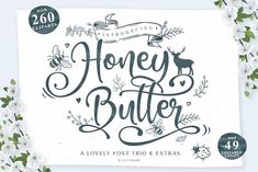 Honey Butter • Font