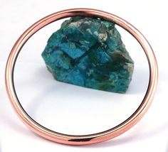 Copper Bangle Copper Bracelet Round Copper Bracelet by dlcgems