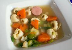 Fun Food Kids soup suppe tortellini möhren karotten herzen herz heart carrots suppengrün healthy gesund einfach leicht easy light Sinja78