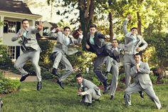 Bridal Party | Groomsmen Poses | Ginny Corbett Photography