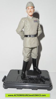 Hasbro/Kenner toys action figures for sale to buy STAR WARS Attack of the Clones/ Saga 2004 ADMIRAL OZZEL executor 100% COMPLETE condition: Excellent. nice paint, nice joints. nothing broken, damaged,
