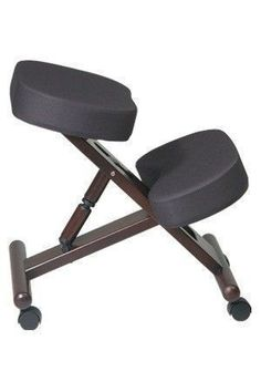 Ergonomic Kneeling Chair with Memory Foam #ergonomicofficechairs #ergonomicchairs