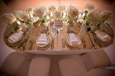 mirror table tops for weddings | ... sheer, white fabric | mirrored table tops, candles and soft lighting