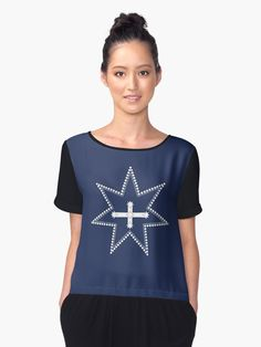 We swear by the Southern Cross to stand truly by each other to defend our rights and liberties. Eureka Flag, Eureka Stockade, Chiffon Tops, Fitness Models, V Neck, Sleeves, Southern, How To Wear, Phone Cases