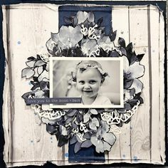 Loving how girlies up the May Stargazer Kit with this layout! Heritage Scrapbooking, Scrapbooking Layouts, Scrapbook Pages, Family History Book, Creative Colour, General Crafts, Layout Inspiration, Stargazer, Paper Crafts