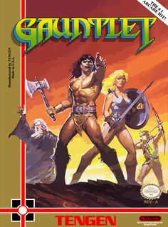 Gauntlet was probably my most played arcade game but I never finished it (did it have an ending?).  When I complete this version I actually drew the final image on my notebook to show it to my friends (life was hard back then without Internet and cel phones). // ★★★★★