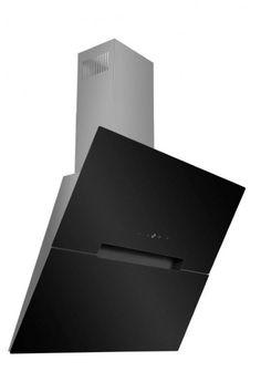 Kopffreihaube PK-05, Glas schwarz, 90 cm, doppelte Ansaugung