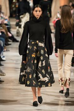 4e1f46091cff Oscar de la Renta Fall 2018 Ready-to-Wear Fashion Show. Tendenze Della Moda  ...