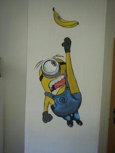 Die Minions Gemälde von mir