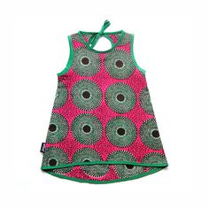 cotton dress for baby girl African Inspired Fashion, African Fashion, Kids Fashion, African Beauty, Baby Girl Dresses, Little Dresses, Baby Dress, African Babies, African Children
