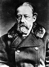 "Bedřich Smetana (1824-1884) Czech composer - he is best known for his opera ""The Bartered Bride,"" and for the symphonic cycle ""Má vlast"" (My Fatherland)."