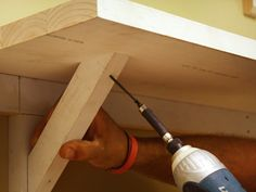 How to Build Open Kitchen Shelving : How-To : DIY Network