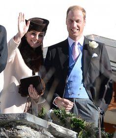 Incinta al quinto mese, Kate ad un matrimonio in Svizzera.