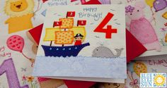 Childrens Age Card by Blue Eyed Sun