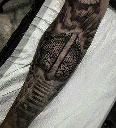 Resultado de imagen para tattoo stairs to heaven