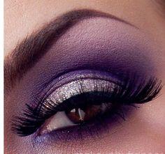 Purple smokey love!