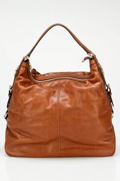 Gucci Slouched Leather Hobo In Cognac - lovely slouchy goodness...  from the Gucci event at beyond the rack