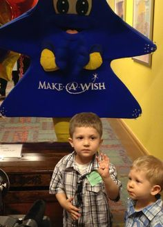 World's Sweetest Child Uses Make-A-Wish To Bring Toys To Other Sick Kids: Dominic, who was diagnosed with leukemia two years ago, chose to spend his wish on toys for patients at the Children's Hospital of Pittsburgh Marty Ostrow Hematology/Oncology Outpatient Center in Pittsburgh, Pennsylvania, according to Make-A-Wish Foundation Greater PA and WV's Facebook page.