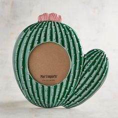 Ceramic Cactus Photo Frame