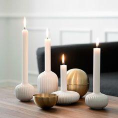Ljusstakar får man aldrig för många av!  #kähler #hammershoi #homebysweden #heminredning #design #designklassiker #inredningsdetalj