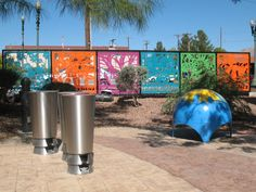 El Paso is the most Mexican of American cities, and special attention was devoted to the arts, crafts, and architecture… Read Creating A Portfolio, Monthly Themes, Shade Structure, Street Furniture, Global Art, Public Art, Shadows, Shelter, Design Art