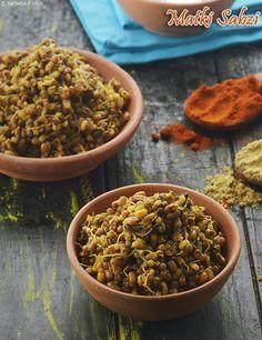 Papad mangodi ki sabzi rajasthani cuisine pinterest cuisine matki sabzi guajarati dry matki subzi forumfinder Choice Image