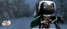 R.A. Salvatore Drizzt Do'urden Custom Funko Pop - I need this and I can stop collecting toys forever <3