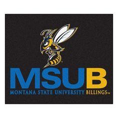 FANMATS NCAA Montana State University Billings Indoor/Outdoor Area Rug