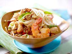 Pad Thai mit Garnelen - so geht's