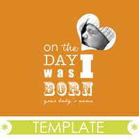 ADOPTION version of On the Day I Was Born template. LOVE this for making a life book that little kids can understand easily.