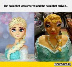 Ordered Elsa, Received Ian McKellen In Drag
