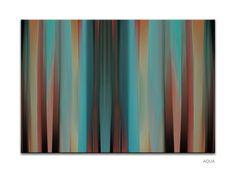 Past - modern digital canvas art by www.pixel-prints.com.  Another popular canvas print.