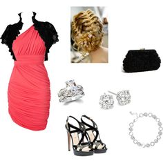 Black Tie Affair, created by taylorf463 on Polyvore
