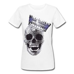skull t shirts for women - Google Search