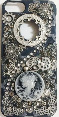 DIY Steampunk phone case iPhone 5s