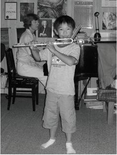 Suzuki flute lessons