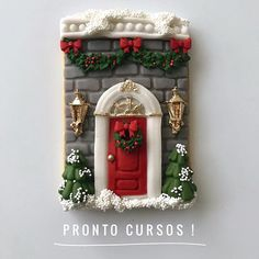 Lorena Rodriguez. Coming classes #christmas #christmascookies #facade #lorenassweets #lorenarodriguez #lorenarodriguezsaenz #fondant #fondantcookies #decoratedcookies