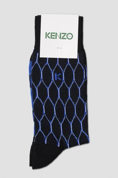 KENZO K Blue Socks