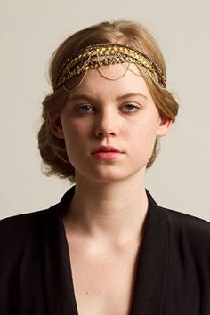 Jazz up your do for a Great Gatsby look with this hair accessory.