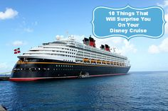 10 Things That Will Surprise You on Your Disney Cruise! | The Kitchen Magpie #travel #disney