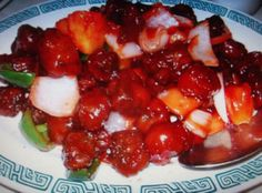 CHINESE DINNER ( sweet and sour pork )
