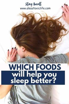 How To Optimize Your Diet For A Better Sleep - #naturalsleep #sleepaid #health Healthy Foods To Eat, Healthy Kids, Low Calorie Fruits, Piercings, Tart Cherry Juice, Nutritional Cleansing, Best Probiotic, Fatty Fish, Moda Emo