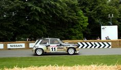 Renault 5 Maxi Turbo Rally Car