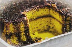 Bolo de Cenoura com cobertura de Chocolate e recheio de Mousse