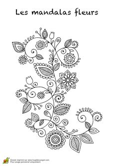 Trendy Tattoo Mandala Women Coloring Pages Henna Tattoo Designs, Flower Tattoo Designs, Flower Tattoos, Zentangle Patterns, Embroidery Patterns, Hand Embroidery, Angel Drawing, Doodle Designs, Flower Doodles