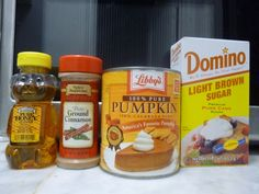 pumpkin body scrub ingredients